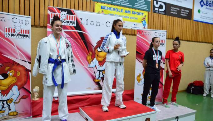 Inês Tunes do KCAT destaca-se na Lion Cup no Luxemburgo