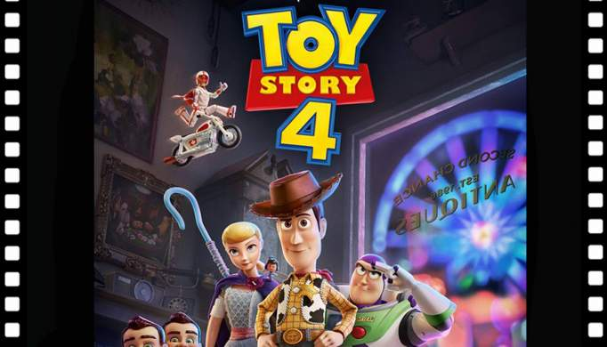 «Toy Story 4» no cinema em Chaves