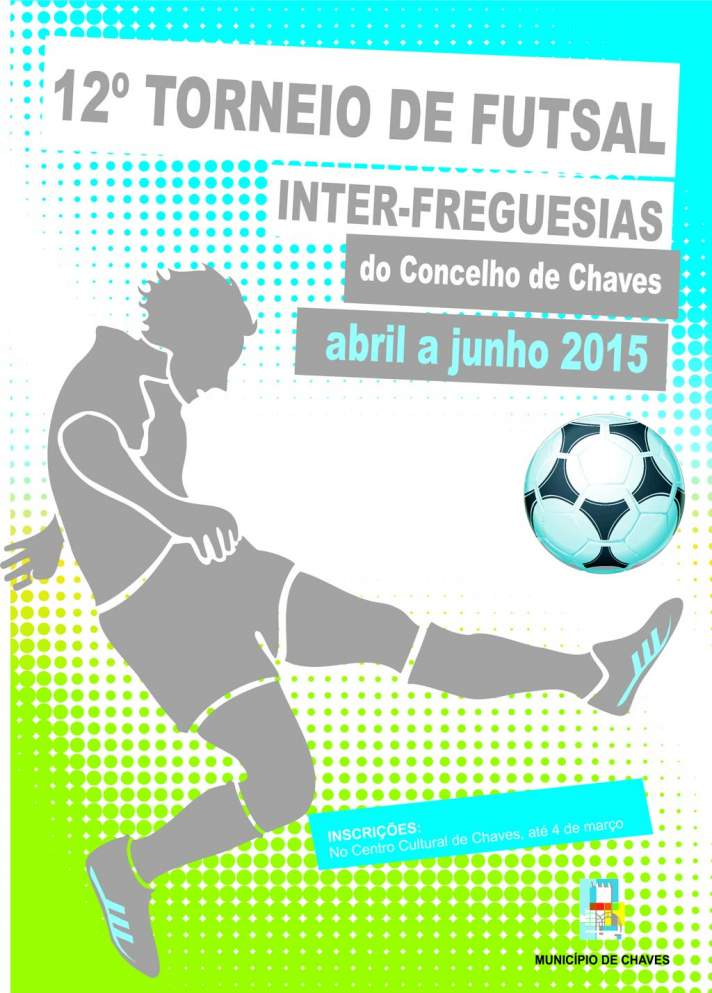 12º Torneio de Futsal Inter-Freguesias do Concelho de Chaves arranca este domingo