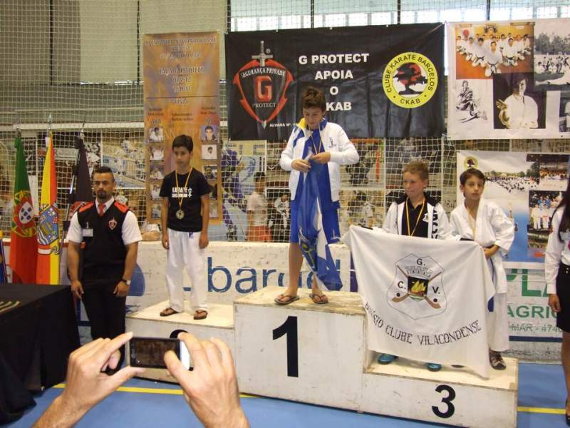 KCAT de novo no pódio no 8º Open de Barcelos